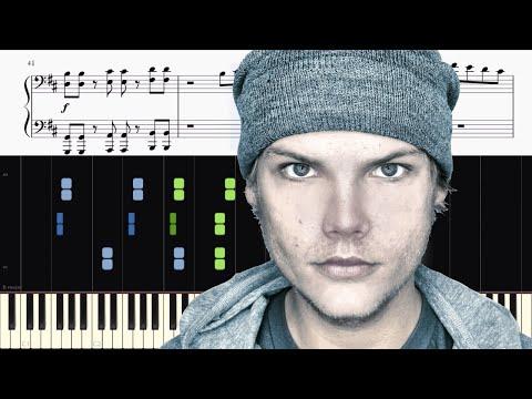 Avicii - Without You (feat. Sandro Cavazza) - Piano Tutorial + SHEETS