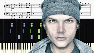 avicii   without you feat sandro cavazza   piano tutorial sheets