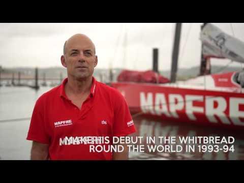 Antonio Piris, MAPFRE's Shore Crew Manager