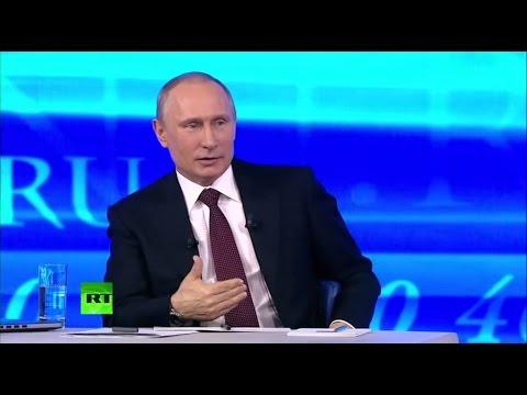 Большая пресс-конференция Владимира Путина 18 декабря 2014 года