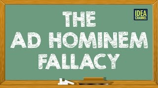 The Ad Hominem Fallacy | Idea Channel | PBS Digital Studios