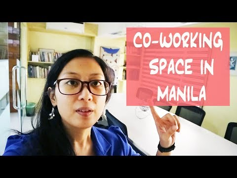 Touring a CO-WORKING SPACE in Manila | steppanyaki