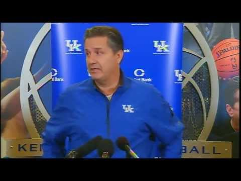 Kentucky Wildcats TV: Coach Cal Press Conference