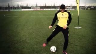 BVB Evonik Fußballschule 2012 - Tricks von Robert Lewandowski