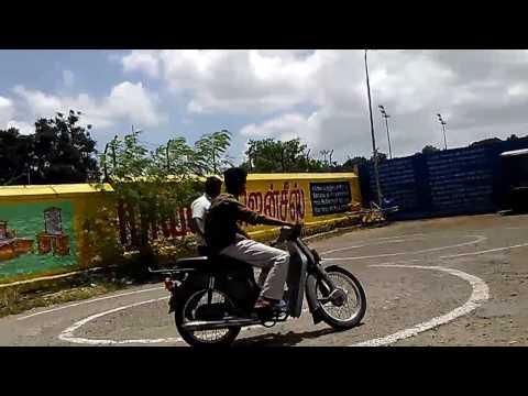 Two wheeler license test tamilnadu coimbatore central zone