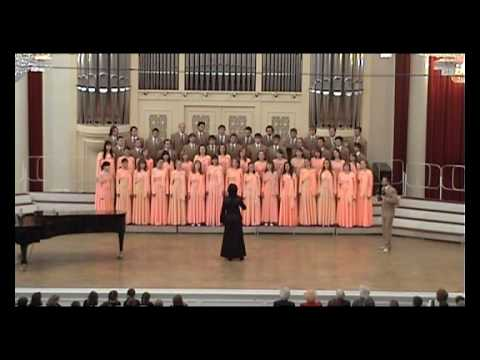 NNSU Academic Choir - La Bamba (Grand Hall Of The Saint Petersburg Philharmonic)