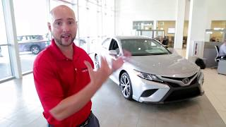 Germain Toyota of Naples-2019 Toyota Camry SE Walkaround and Introduction