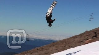 How To Backflip On A Snowboard With Jaeger Bailey: The Trick ep. 2