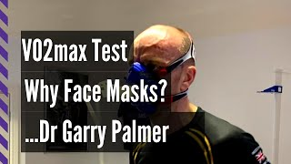 Why are Face Masks used by Sports Scientists in the VO2max Test?