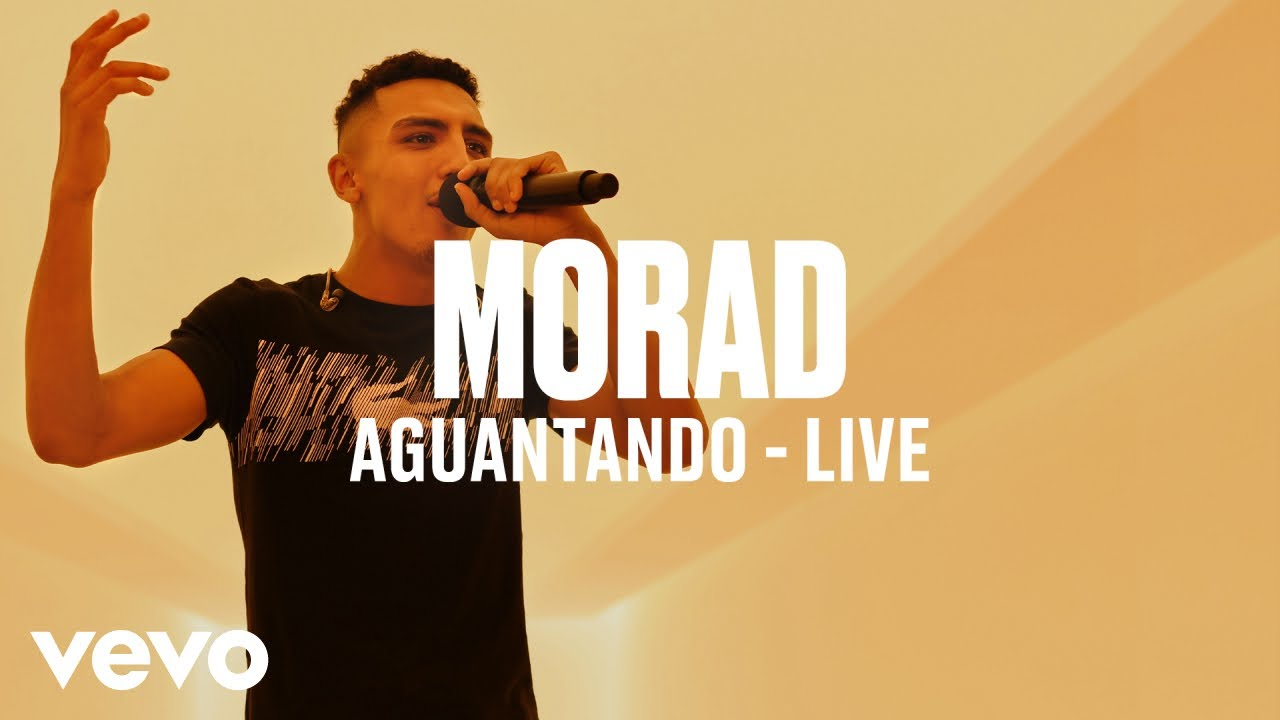 Morad - Aguantando (Live) | Vevo DSCVR
