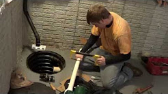 How to Install / REPLACE SUMP PUMP ~ by Atlantic Drain The FIX