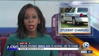 Seminole Ridge HS student accused of bringing gun to school, hitting school employee