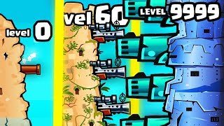IS THIS THE STRONGEST HIGHEST LEVEL FORT CANNON EVOLUTION? (9999+ MAX LEVEL) l Awesome pirates #2