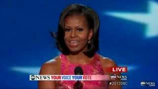Michelle Obama DNC Speech 2012 Complete: