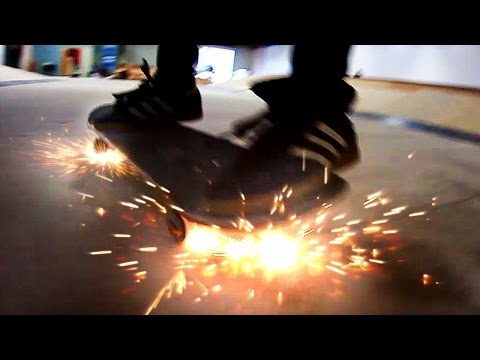SKATEBOARD WHEELS THAT SPARK! | YOU MAKE IT WE SKATE IT EP 66