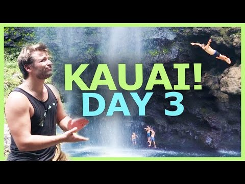 HIKING Nā PALI COAST! EPIC WATERFALLS! CRAZY GUYS!
