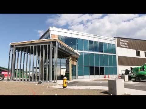Northeast Air General Aviation Terminal Construction Update