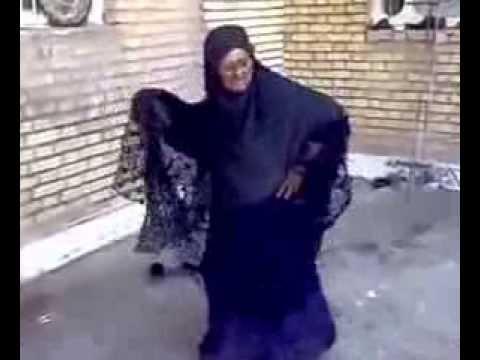 Bbw grandma dance