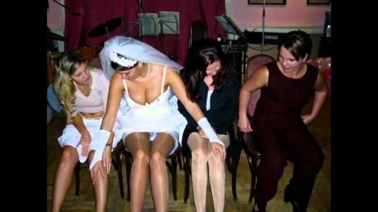 Засветы под юбкой невест (+18) - YouTube