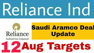Reliance Industries Share News | 12 Aug Reliance Ind Share Price Targets | Reliance Ind Share