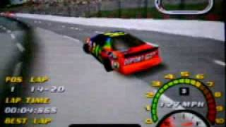 NASCAR 2000 at Martinsville Speedway (Nintendo 64)