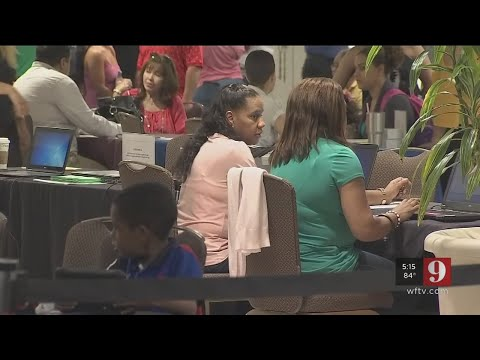 Video: Assistance center for Puerto Rican evacuees to close Friday
