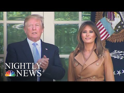 Melania Trump Announces 'Be Best' Children's Initiative   NBC Nightly News