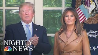 Melania Trump Announces 'Be Best' Children's Initiative | NBC Nightly News