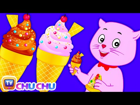 Three Little Kittens Went Out To Eat - Nursery Rhymes by Cutians™ - The Cute Kittens | ChuChu TV
