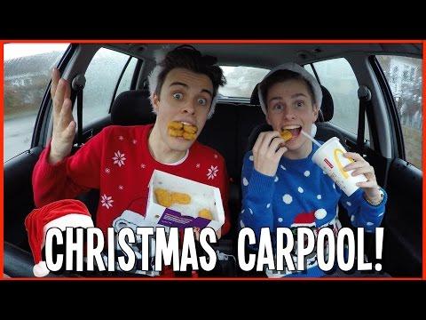 CHRISTMAS CARPOOL KARAOKE! | Ft Lee Hinchcliffe