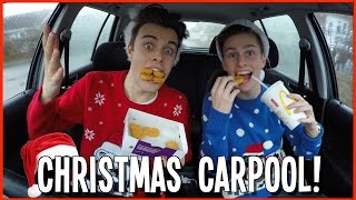 CHRISTMAS CARPOOL KARAOKE! | Ft Lee Hinchcliffe