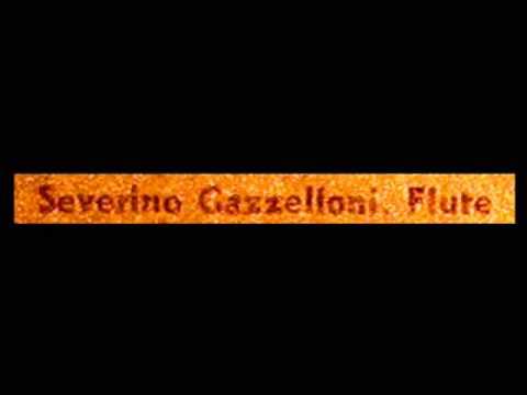 Debussy / Severino Gazzelloni,1960s: Syrinx, L 129