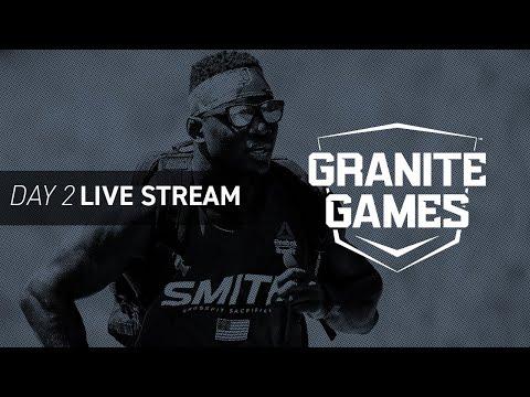 Watch Granite Games Day 2—CrossFit Semifinals