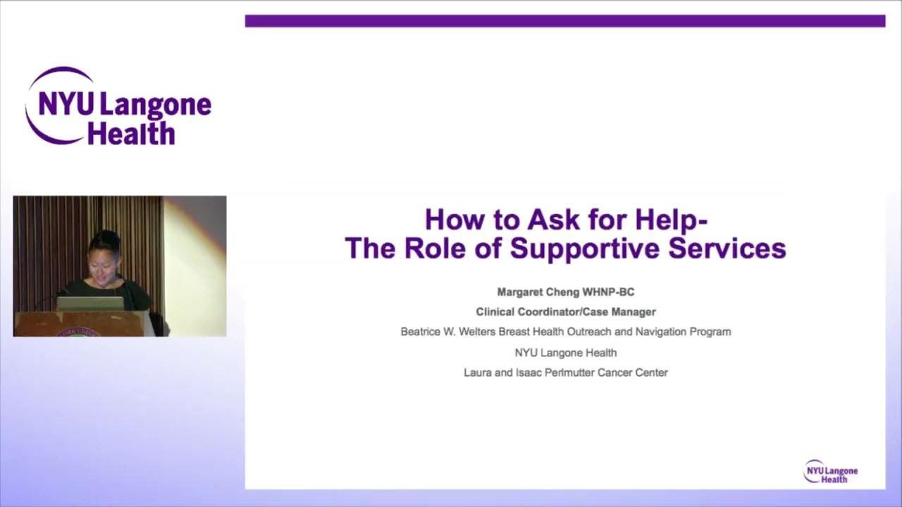 Breast Cancer in Women of Color: Supportive Services