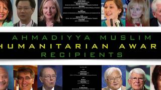 Ahmadiyya Muslim Humanitarian Award 2018