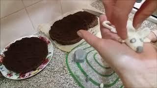 ТОРТ шоколадный. Нереально вкусный и простой с новогодним оформлением  | chocolate cake.