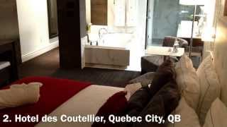 10 Romantic Jacuzzi Suite Hotel Rooms in the U.S. & Canada