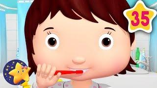 How To Brush Your Teeth Teeth | Fun Learning with LittleBabyBum | NurseryRhymes for Kids
