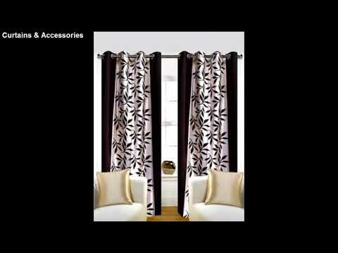 Curtains and Accessories in India and Pakistan || latest curtains designs || Fashion Today