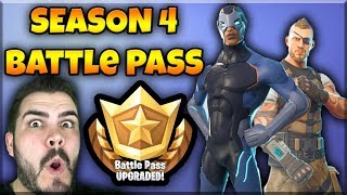 SEASON 4 vo FORTNITE-New skins, new map, new Battle Pass | Fortnite SK/CZ