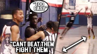 Julian Newman DROPS 30 in a HALF! TEAM FORFEITS & ENDS in NEAR BRAWL!