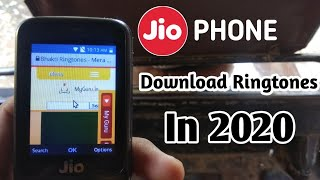 How To Download Ringtones In Jio Phone 2020 | Jio phone new update