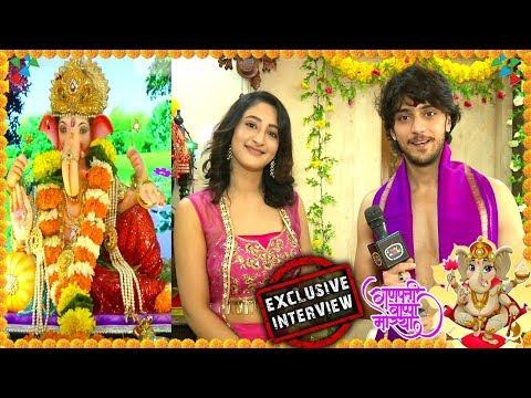 Kinshuk Vaidya And Girlfriend Shivya Pathania Celebrate Ganpati at Home| Ganesh Chaturthi