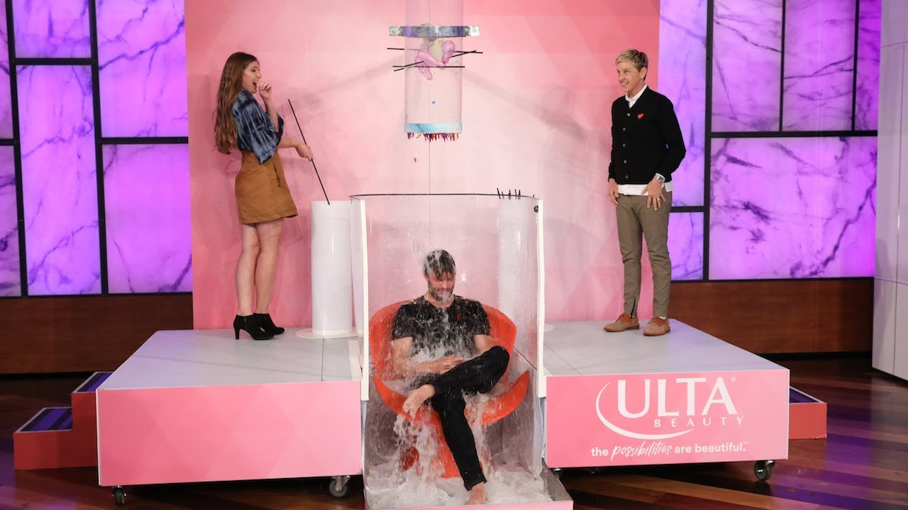 Watch Jamie Dornan Get Soaking Wet for a Good Cause | E! News