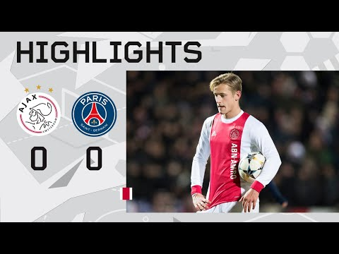 Highlights Ajax U19 - PSG U19 (UEFA Youth League)