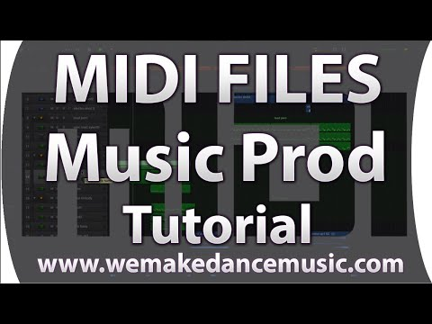 How to use MIDI in music production - tutorial thumbnail