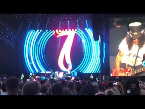 Guns N Roses – Mr. Brownstone live at Hersheypark Stadium 2021