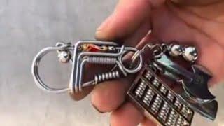 Gantungan kunci dari kawat