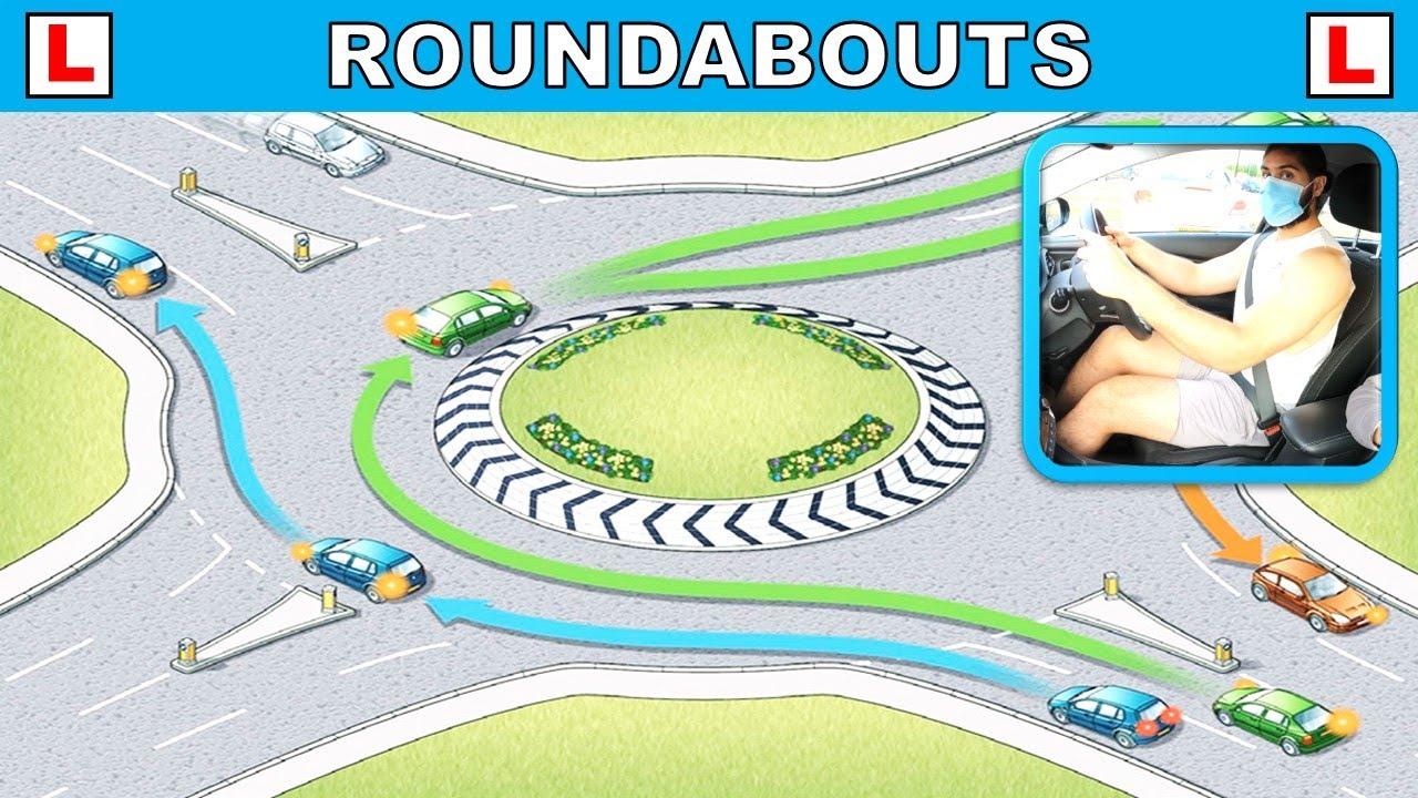 Roundabouts Driving Lesson - Lesson #15