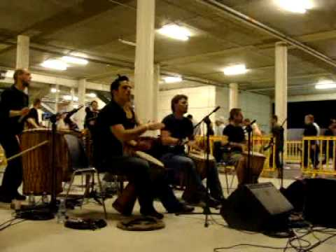 Tony Robbins firewalk Drummers Rome 2009